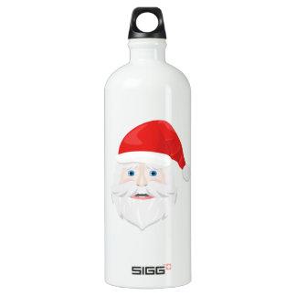 Merry Christmas Santa Claus Water Bottle