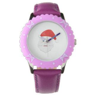Merry Christmas Santa Claus Wristwatch