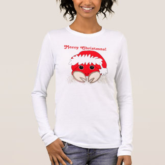 Merry Christmas Santa Crab Long Sleeve T-Shirt