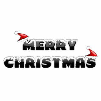 Merry Christmas Santa Hats Photo Cut Out