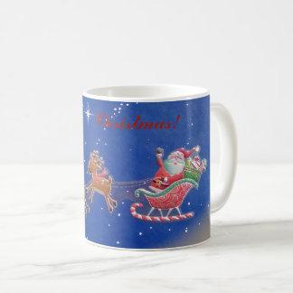 Merry Christmas Santa Mug! Coffee Mug