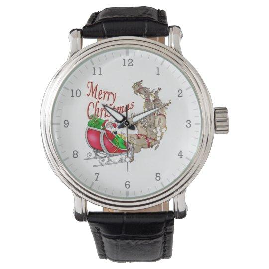 Merry Christmas Santa Wrist Watches