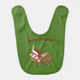 Merry Christmas Santa Yak Bib