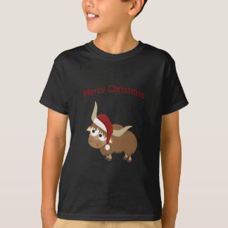 Merry Christmas Santa Yak T-Shirt
