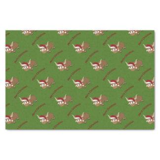 Merry Christmas Santa Yak Tissue Paper