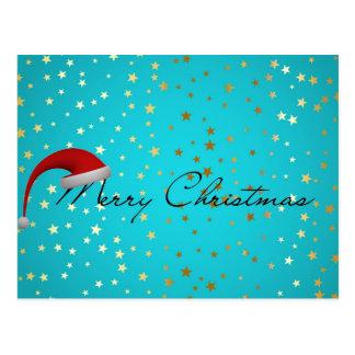 Merry Christmas Season Postcard