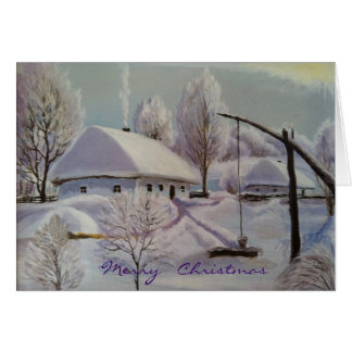 Merry Christmas~Season's Greetings Card