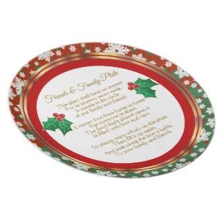 Merry Christmas Sharing Plate