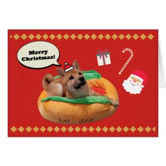 Merry Christmas Shiba Card