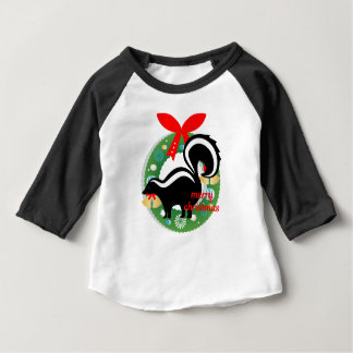 merry christmas skunk baby T-Shirt