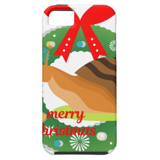 merry christmas snail iPhone 5 case