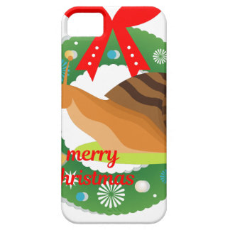 merry christmas snail iPhone 5 covers