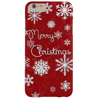 Merry Christmas Snowflake Phone Case