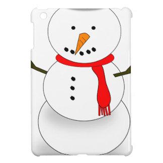 Merry Christmas Snowman iPad Mini Case