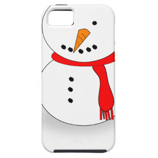 Merry Christmas Snowman iPhone 5 Case