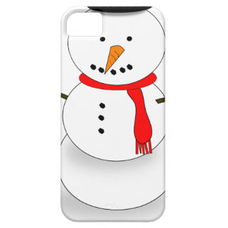 Merry Christmas Snowman iPhone 5 Cases