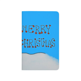 Merry Christmas Snowman Journal