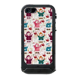 Merry Christmas Snowmen Incipio ATLAS ID™ iPhone 5 Case