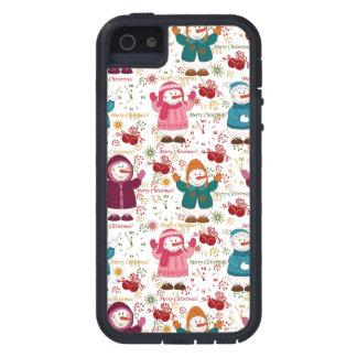 Merry Christmas Snowmen iPhone 5 Cases