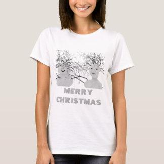 Merry Christmas Snowmen T-Shirt