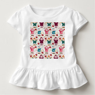 Merry Christmas Snowmen Toddler T-shirt