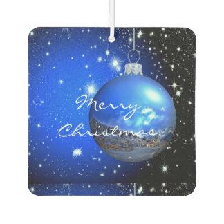 merry christmas starry sky ornament car air freshener
