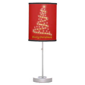 Merry Christmas Table Lamp