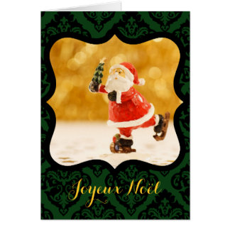 Merry Christmas Tallies V decorative Photo Card