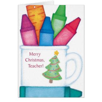 Merry Christmas, Teacher Greeting Card