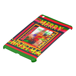 Merry Christmas The world around me is happy to ha iPad Mini Covers