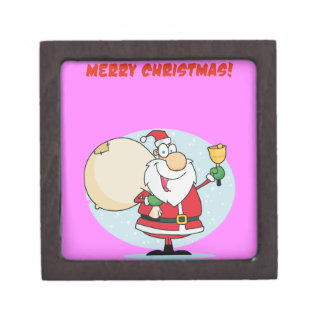 Merry Christmas To All And To All Goodnight Premium Keepsake Box