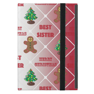 Merry Christmas to best sister Covers For iPad Mini