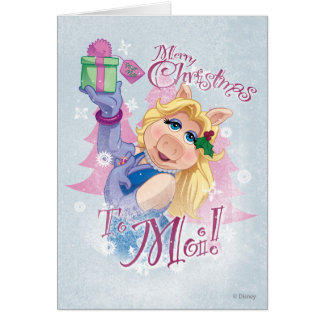 Merry Christmas to Moi Greeting Card