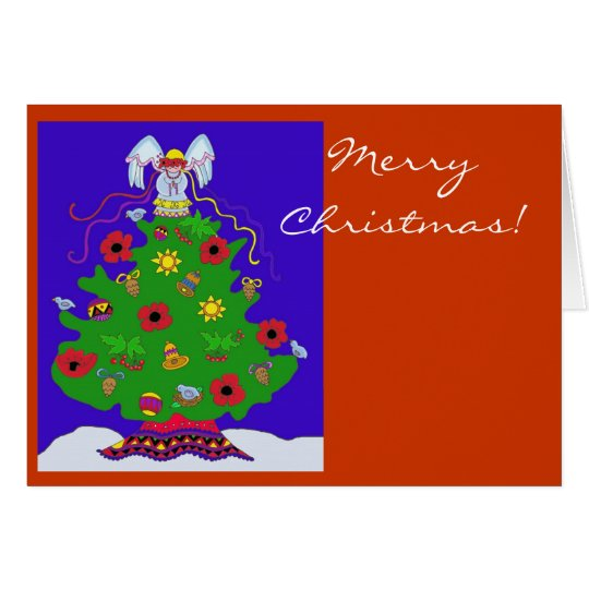 Merry Christmas to Personalize Card
