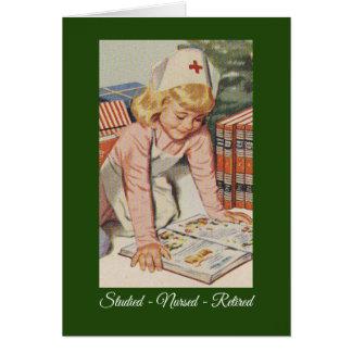 Merry Christmas to Retired Nurse Card