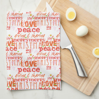 Merry Christmas to You kitchen towel