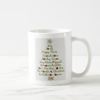 Merry Christmas Tree Mug2 Coffee Mug