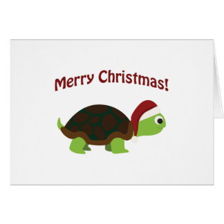 Merry Christmas! Turtle Card