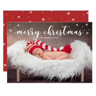 Merry Christmas Twinkle Photo Card