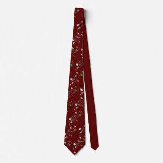 Merry Christmas Typography Tie