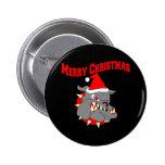 Merry Christmas USMC Devil Dog Pins