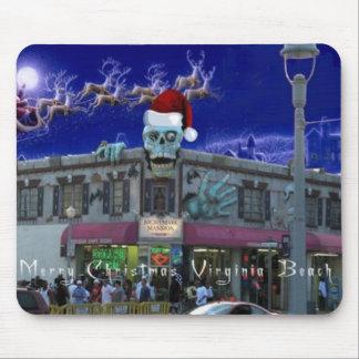 Merry Christmas Va Bch VA Mouse Pad