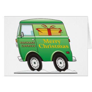 Merry Christmas Van Green Card