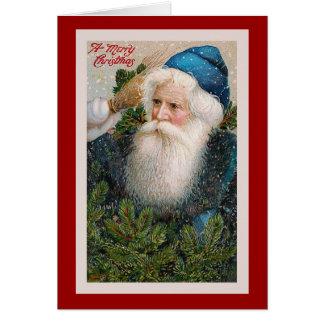 """""""Merry Christmas"""" Vintage Christmas Card"""