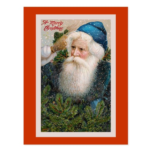 """Merry Christmas"" Vintage Postcard"