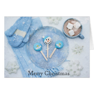Merry Christmas Winter Solstice Greeting Card
