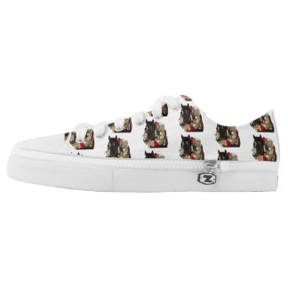 Merry Christmas with Brayley Low-Top Sneakers