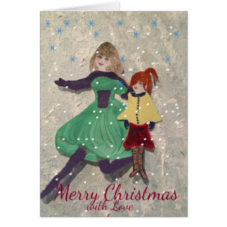 Merry Christmas With Love Card