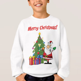 Merry Christmas with Santa Claus Sweatshirt