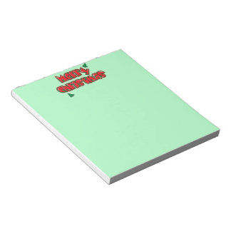 Merry Christmas with Trees Notepad